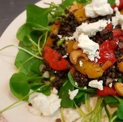 Salade linzen paprika_vierkant