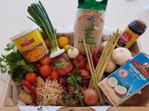 Tom Kha Kai - ingrediënten